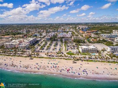 Deerfield Condo/Townhouse For Sale: 101 S Ocean Dr #301