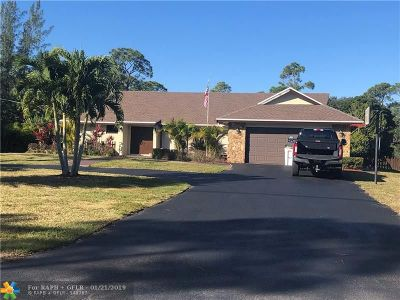 Parkland Single Family Home For Sale: 6165 NW 69th Way