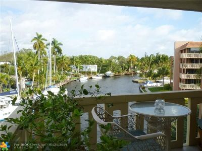 Fort Lauderdale Condo/Townhouse For Sale: 1350 River Reach Dr #409