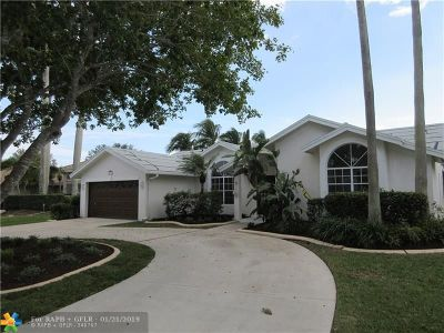Coral Springs Single Family Home For Sale: 10334 NW 50th Ct