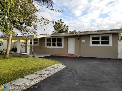 Broward County Single Family Home For Sale: 1420 NW 41st Ct