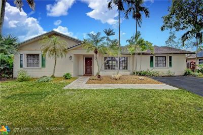 Cooper City Single Family Home For Sale: 11906 SW 54th St