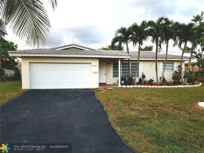 Coral Springs Single Family Home For Sale: 4107 NW 78th Way