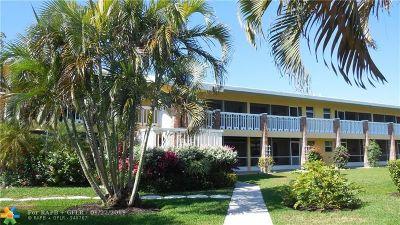 Pompano Beach Condo/Townhouse For Sale: 2541 NE 11th St #102