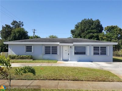 Fort Lauderdale Single Family Home For Sale: 531 Arizona Ave