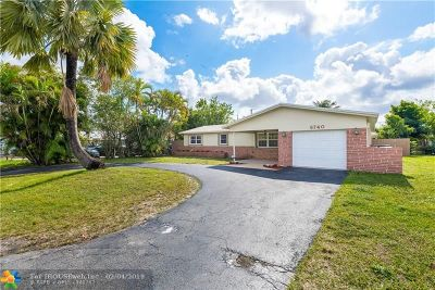 Pembroke Pines Single Family Home Backup Contract-Call LA: 6740 SW 10th St