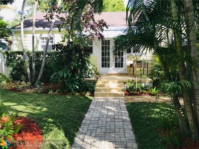 Fort Lauderdale Single Family Home For Sale: 727 NE 17th Ave