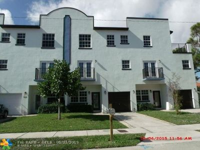 Fort Lauderdale Rental For Rent: 801 NW 1st Ave #801