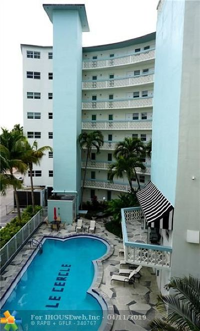 Fort Lauderdale Condo/Townhouse For Sale: 3250 NE 28th St #402