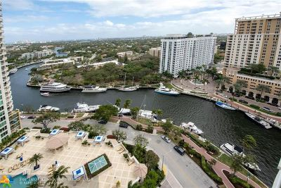 Fort Lauderdale Condo/Townhouse For Sale: 347 N New River Dr #2202