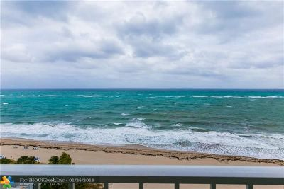 Lauderdale By The Sea Condo/Townhouse For Sale: 1620 S Ocean Blvd #12A