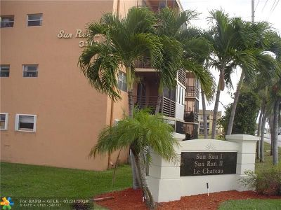 Sunrise Condo/Townhouse For Sale: 3110 N Pine Island Rd #305