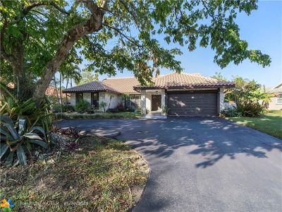 Coral Springs Single Family Home For Sale: 1648 NW 97th Ter