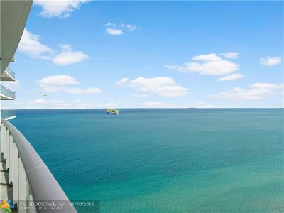 Hollywood Condo/Townhouse For Sale: 4111 S Ocean Dr #3707