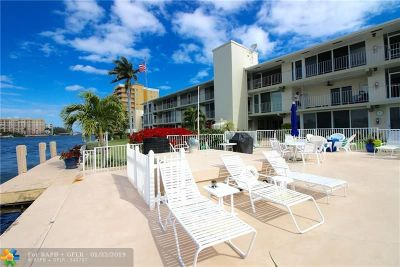 Pompano Beach Condo/Townhouse For Sale: 743 N Riverside Dr #8A