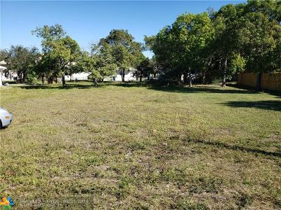 Pompano Beach Residential Lots & Land For Sale: 9 NW 9th Ave