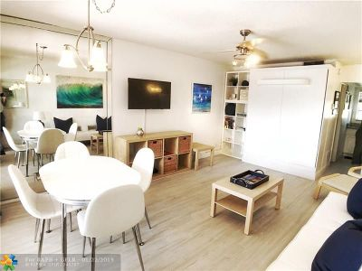 Pompano Beach Condo/Townhouse For Sale: 605 N Riverside Dr #20