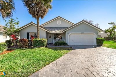 Coral Springs Single Family Home For Sale: 5479 Pine Ln