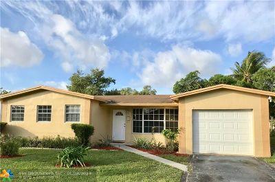 Lauderhill Single Family Home Backup Contract-Call LA: 2221 NW 46th Ave