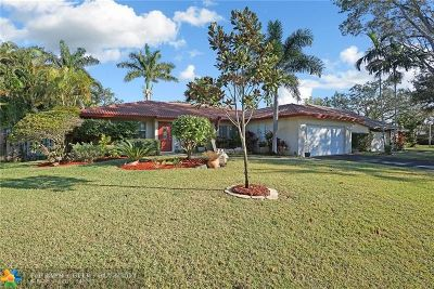 Coral Springs Single Family Home For Sale: 11527 NW 40th St