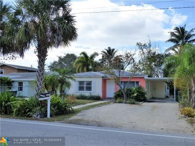 Fort Lauderdale Single Family Home For Sale: 1337 NW 7th Ave
