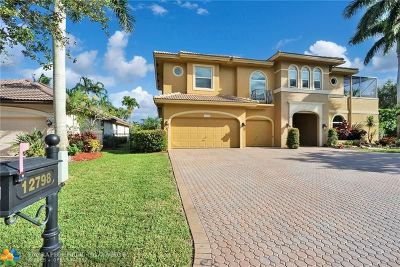 Broward County Single Family Home For Sale: 12798 NW 69th Ct