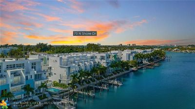 Miami Condo/Townhouse For Sale: 75 N Shore Dr #75