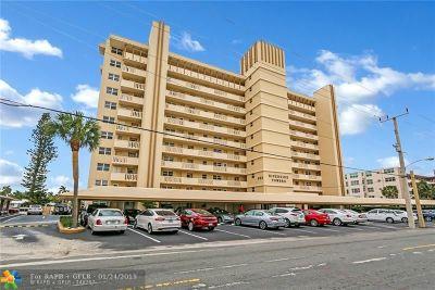 Pompano Beach Condo/Townhouse For Sale: 303 N Riverside Dr #305