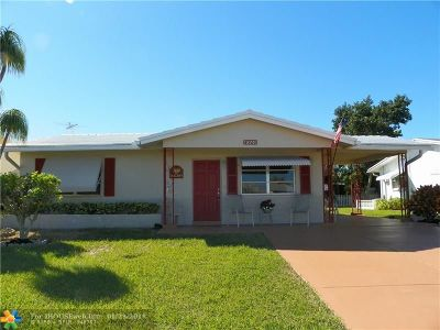 Tamarac Single Family Home For Sale: 4920 NW 53rd St