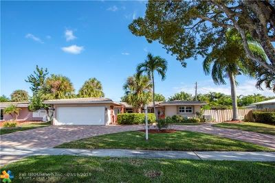 Fort Lauderdale Single Family Home For Sale: 5910 NE 15th Ave