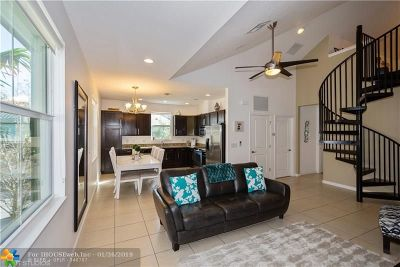 Cooper City Condo/Townhouse For Sale: 2906 Cascada Isles Way