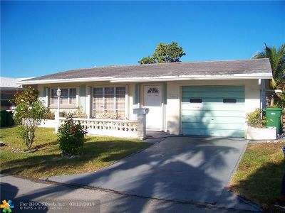 Tamarac Single Family Home For Sale: 4935 NW 48th Ave