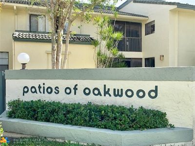Coral Springs Condo/Townhouse For Sale: 9568 SW 1st Ct #7F