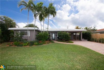 Wilton Manors Single Family Home For Sale: 1806 NE 27th St