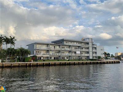 Pompano Beach Condo/Townhouse For Sale: 1201 S Riverside Dr #106