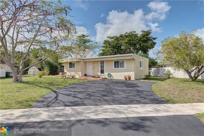 Tamarac Single Family Home For Sale: 7805 NW 68th Ave