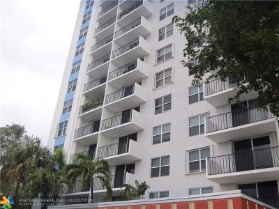 Fort Lauderdale Condo/Townhouse For Sale: 1800 N Andrews Ave #4J
