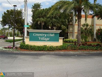 Weston Condo/Townhouse For Sale: 16300 Golf Club Rd #717