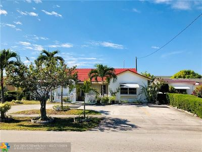 Lauderdale Lakes Single Family Home For Sale: 4091 NW 52nd Ave