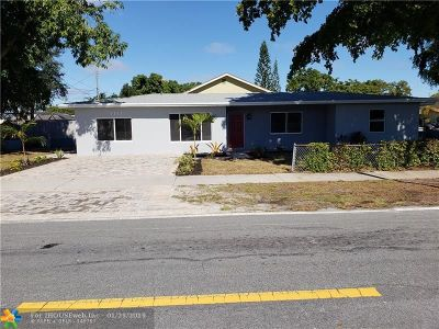 Pompano Beach Single Family Home For Sale: 1111 NE 4th St