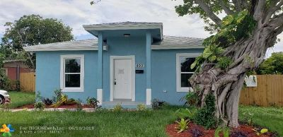 West Palm Beach Single Family Home For Sale: 800 Handy Ave