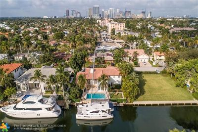 Las Olas Isles Single Family Home For Sale: 320 Lido Dr