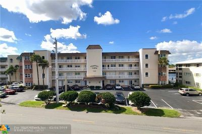 Pompano Beach Condo/Townhouse For Sale: 725 N Riverside Dr #202