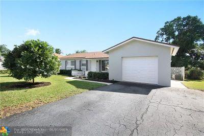 Boynton Beach Single Family Home Backup Contract-Call LA: 134 SE 26th Ave