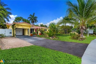 Oakland Park Single Family Home For Sale: 3640 NE 16th Ave