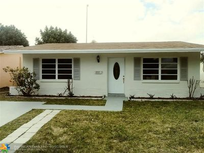 Tamarac Single Family Home For Sale: 4955 NW 48th Way