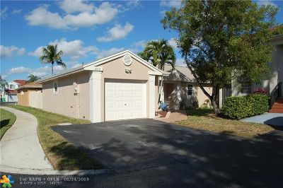 Sunrise Single Family Home For Sale: 3712 NW 107th Ter