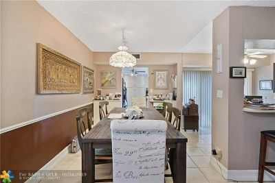 Coral Springs Condo/Townhouse For Sale: 9520 SW 1st Ct #22-F