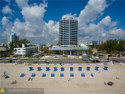 Fort Lauderdale Condo/Townhouse For Sale: 701 N Fort Lauderdale Beach Blvd #1102