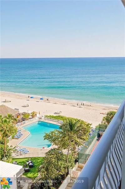 Fort Lauderdale Condo/Townhouse For Sale: 4020 Galt Ocean Dr #707